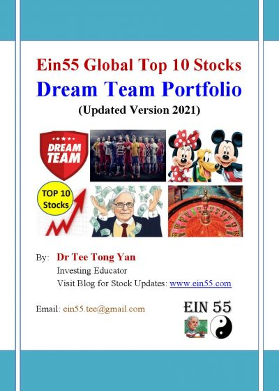 E-Book - Ein55 Global Top 10 Stocks - Updated Version 2021 cover